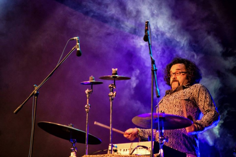 Levent Akman at Festivalul Plai, Romania, Sept. 2013.   Photo: Bogdan Comanescu